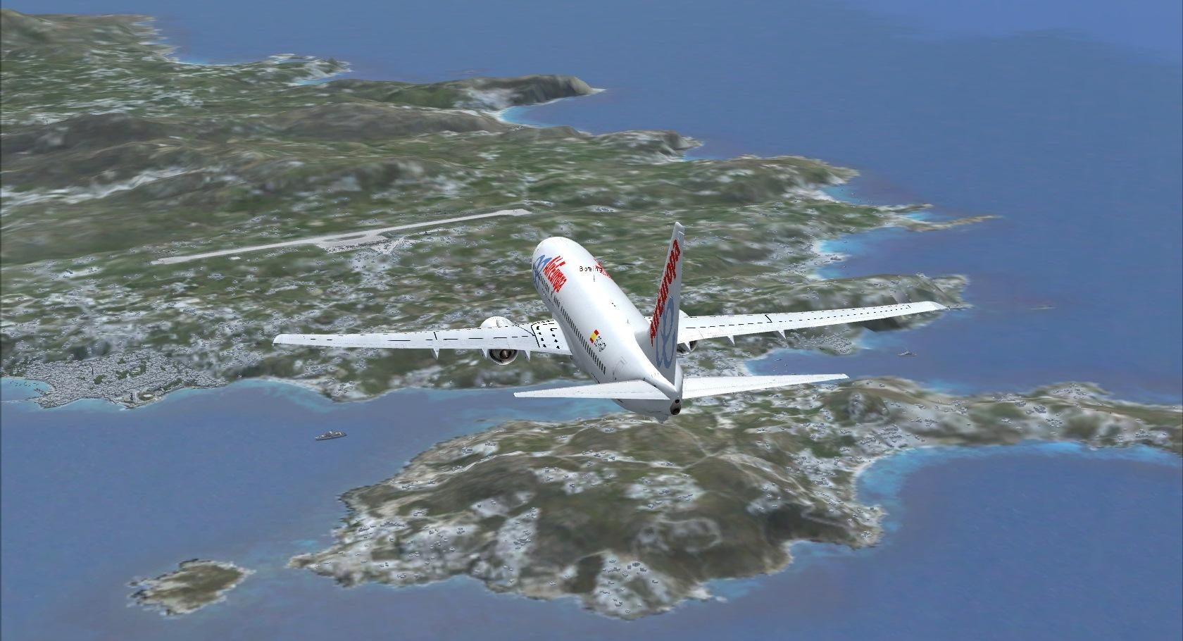 First landing Mykonos 8840930651_88f7fac050_o