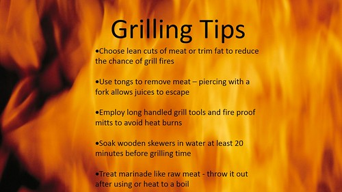Grill Tips