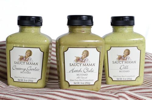 Saucy Mama Mustards