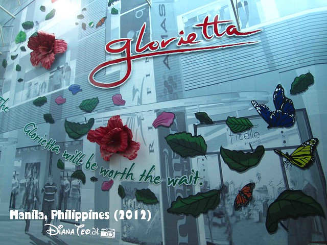 Day 6 - Philippines Glorietta Signboard