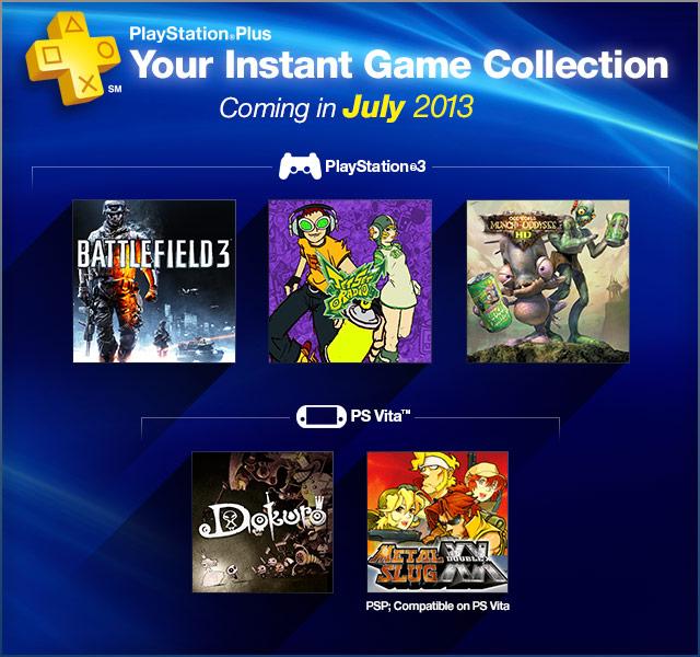 PlayStation Plus Update 7-2-2013
