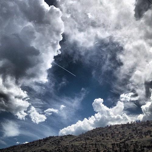 Afternoon #cloudporn by @MySoDotCom