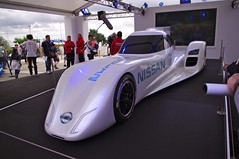 Nissan ZEOD RC - All Electric Car which Nissan plan to enter in the 2014 Race