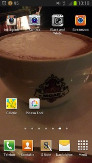 Screenshot Handy für #ger23mthings 2013