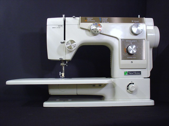 Janome New Home 696 Sewing Machine Heavy Duty Fabrics