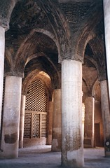 Iran - mosque inside. Isfahan