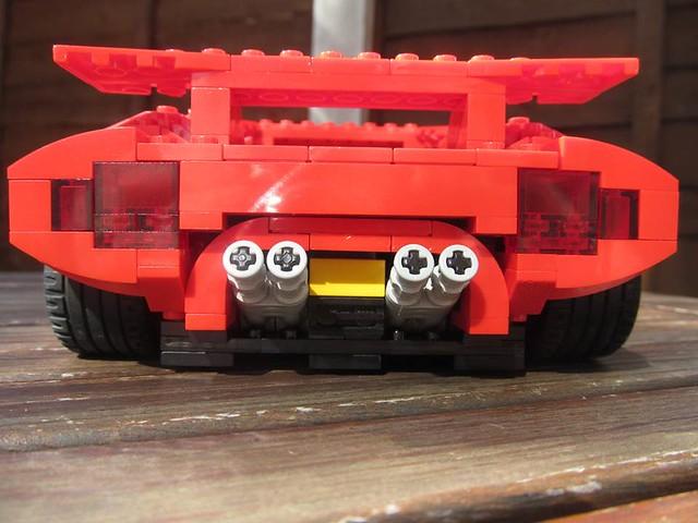 Lego Lamborghini Countach Flickr Photo Sharing