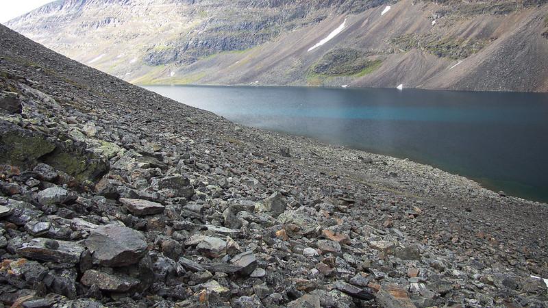 Bergsee im Unna Visttasvággi