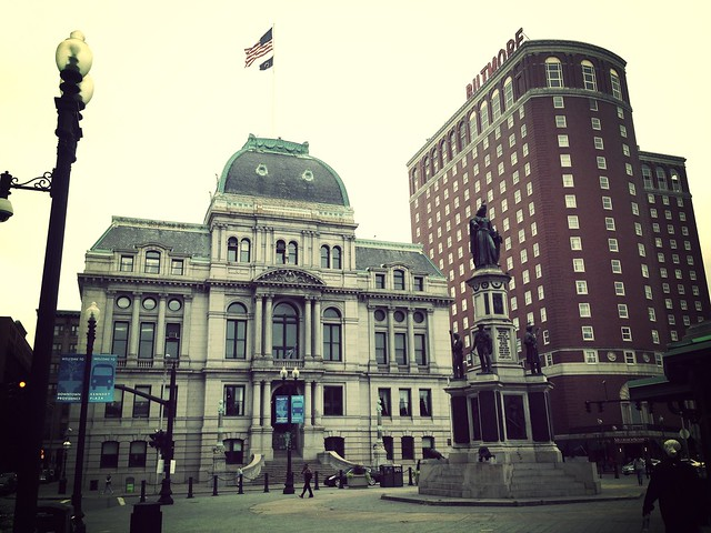 Providence City Hall and Biltmore Hotel