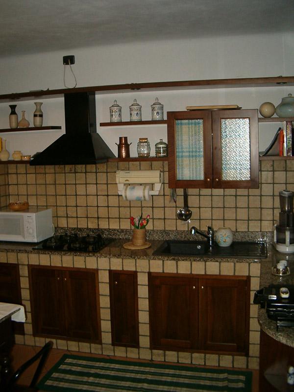 Cucina tipo Muratura | struttura interna in multistrati idro ...