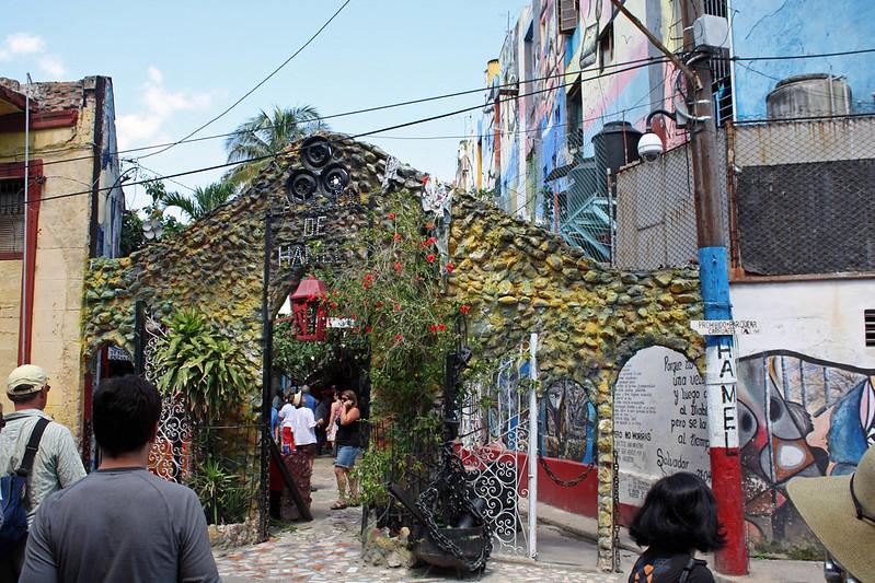 Callejon de Hamel Entrance