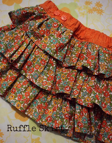 Ruffle Skirt by Fitri D. // Rumah Manis