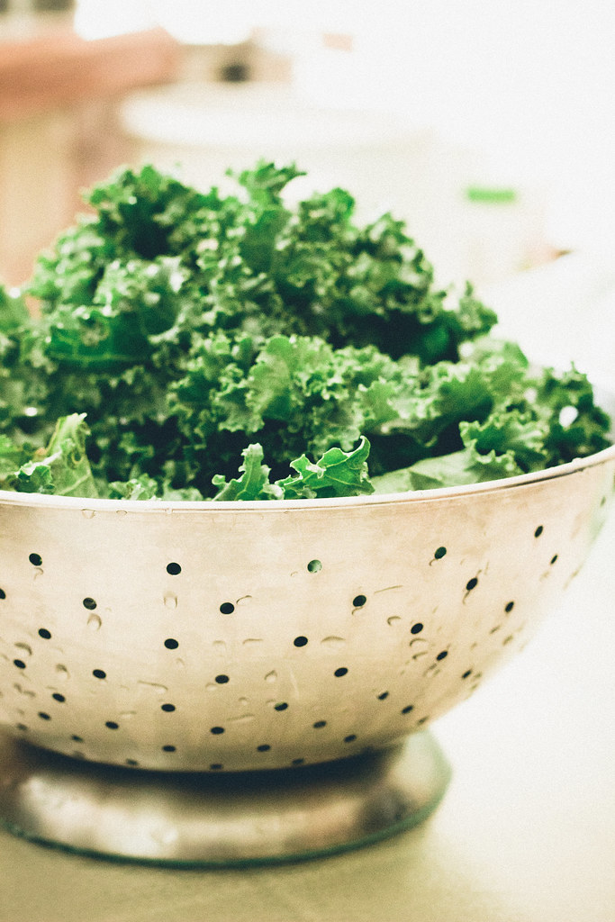 herbes de provence seasoned kale chips via chevrons and eclairs