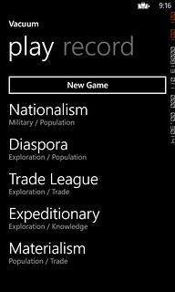 Windows Phone Codename: Vacuum App