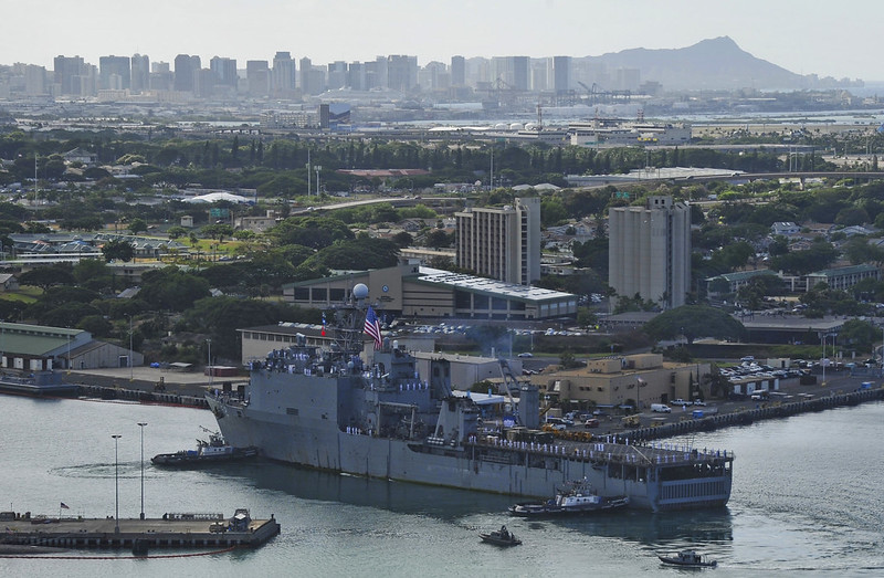 USS Pearl Harbor Visits Hawaii