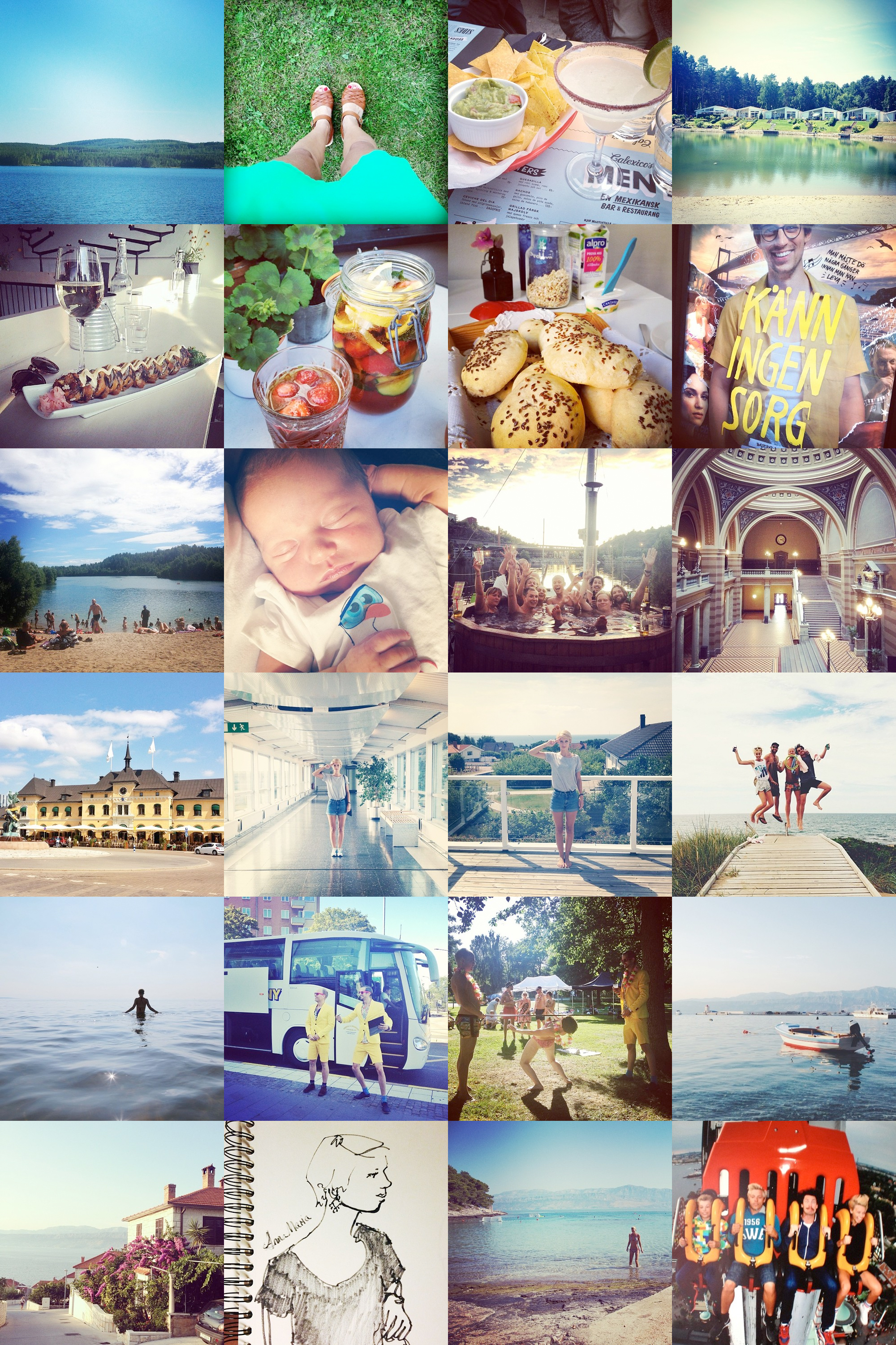 My instagram summer