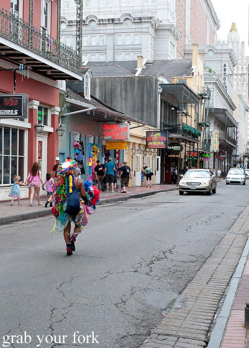 bourbon street in new orleans louisiana