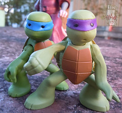 Nickelodeon  TEENAGE MUTANT NINJA TURTLES :: NINJAS in TRAINING, LEONARDO & DONATELLO x (( 2013 ))