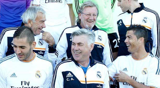 Sesión de fotos - Real Madrid CF