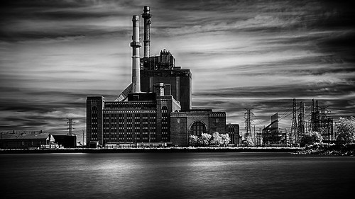 State Line Power Plant by Kunst Images