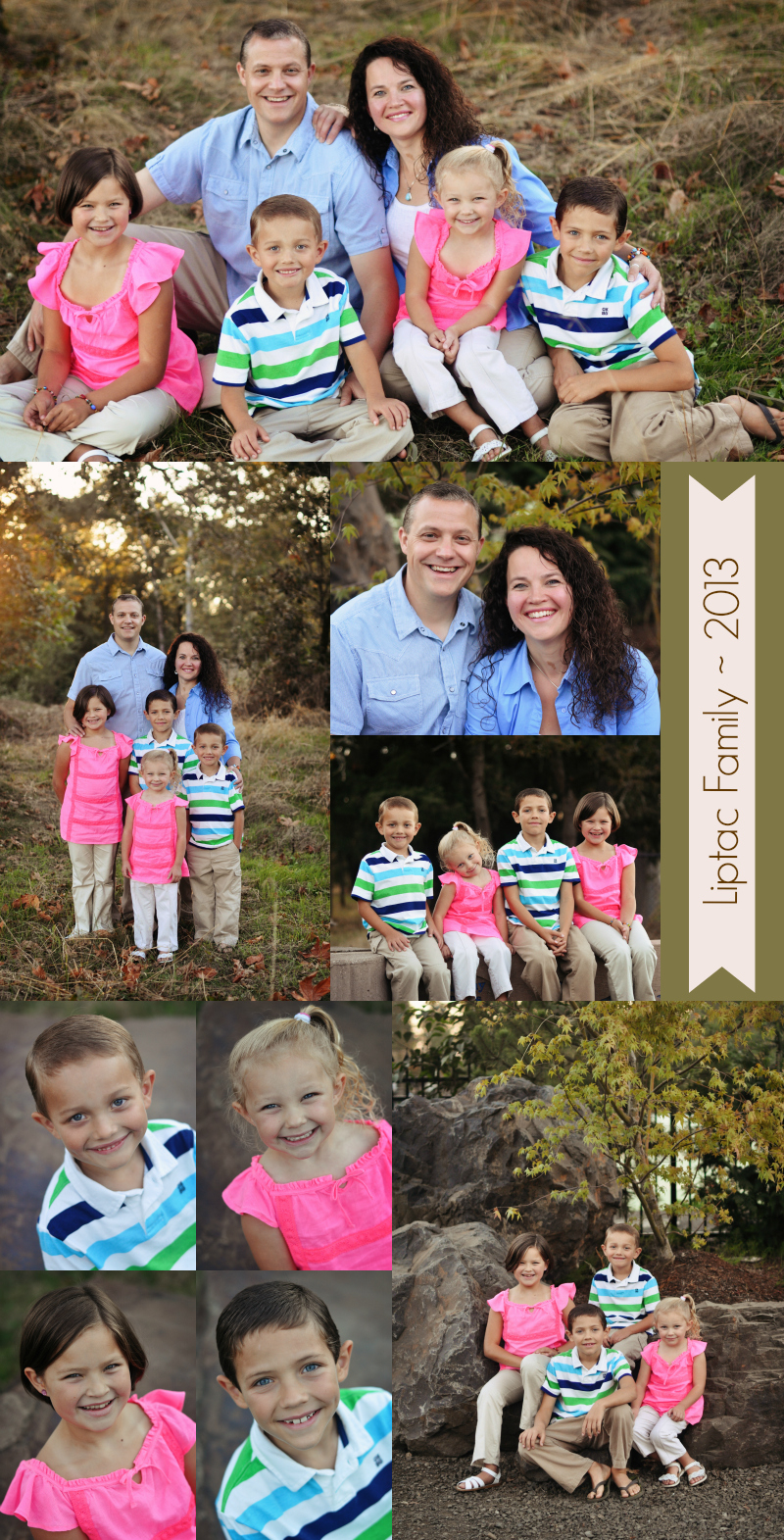 L Family Collage 2013