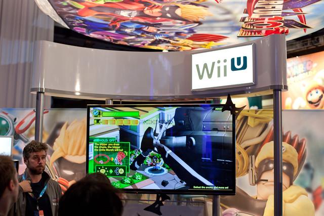 Wii U Arcade Machine : Wii u booth flickr photo sharing