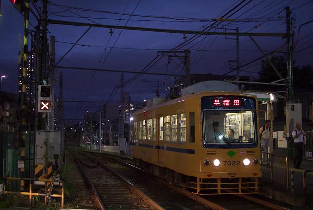 Tokyo Train Story 都電荒川線 2013年9月26日