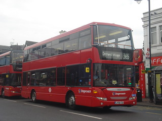 Stagecoach 15034 on Route 365, Romford Station