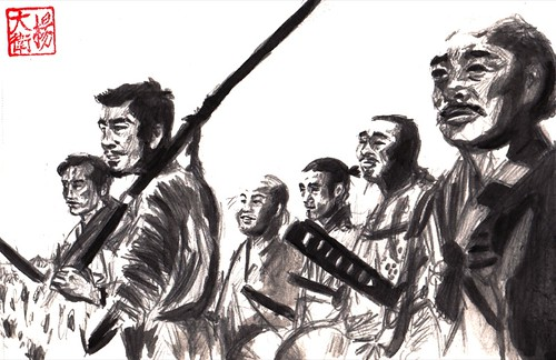 Seven Samurai by david.jack