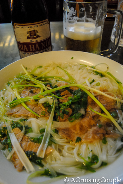 Pho Bo and Hanoi Beer