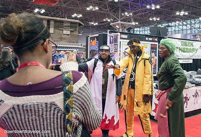 NY Comic Con Mens Costumes Naruto Manga