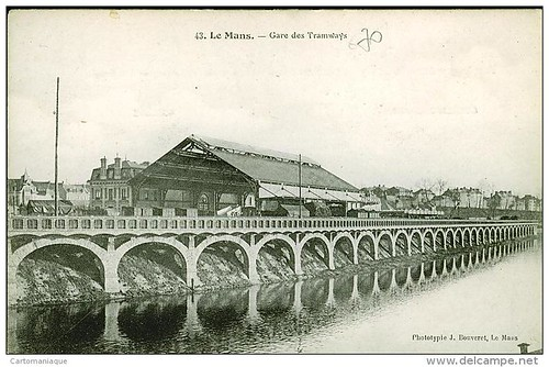 gare des tramway port du mans