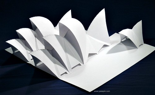 all things paper origami architecture kit review and giveaway. Black Bedroom Furniture Sets. Home Design Ideas