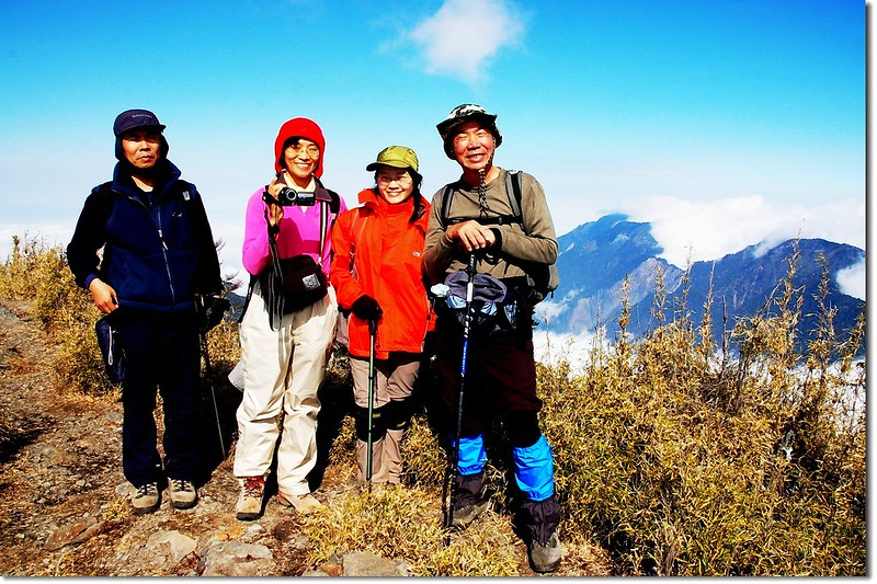 郡大北峰頂(Elev. 3241 m) 2