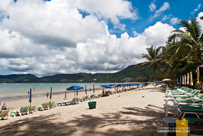 Patong Beach Near Phuket's Duangjitt Resort