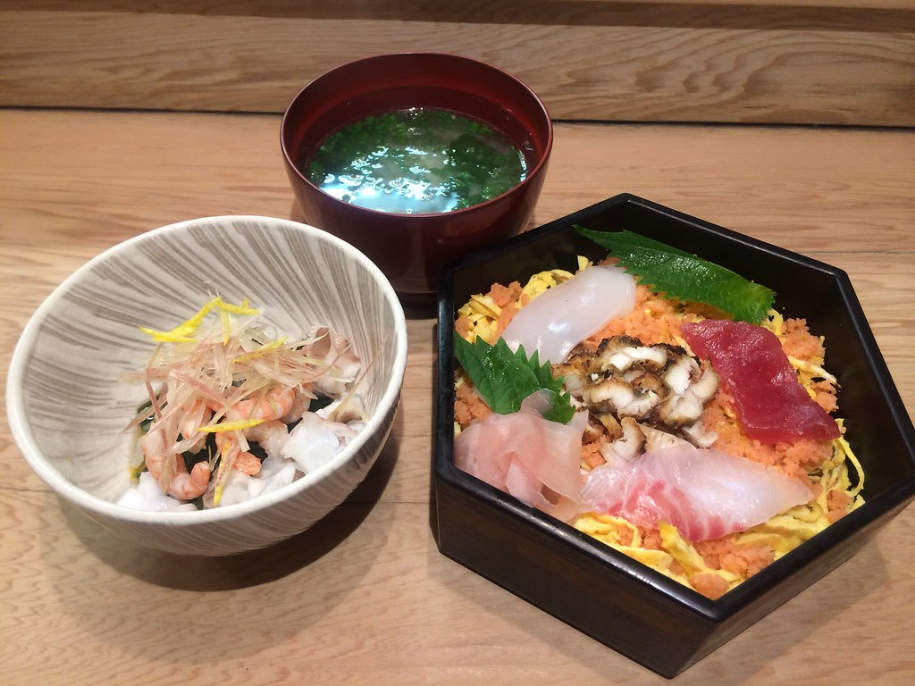 ちらし寿司定食