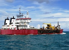 vehicle, ship, sea, ocean, research vessel, floating production storage and offloading, cargo ship, watercraft, tugboat,