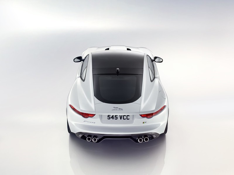 F-TYPE Coupe - Aerial Rear