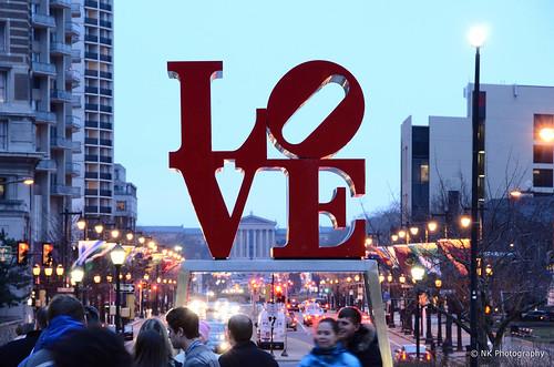 Love Sculpture, Philadelphia, PA por Nilesh Khadse
