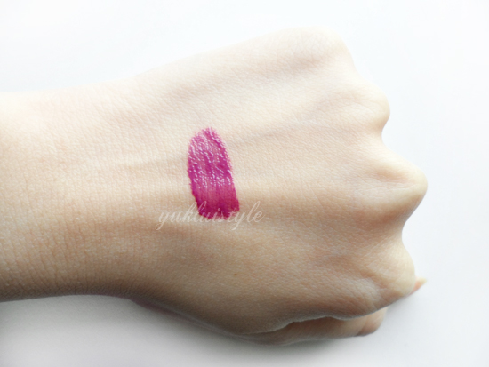YSL Rouge Pur Couture Glossy Stain Lip in 26 Violine Surrealiste review and swatch