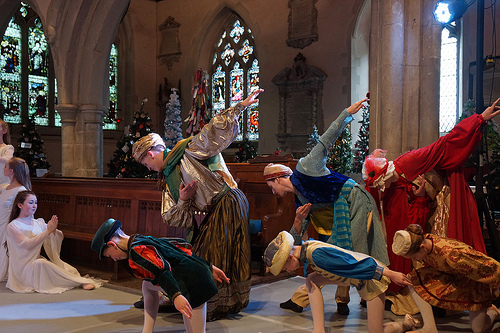 Three Kings in the NYB nativity ballet