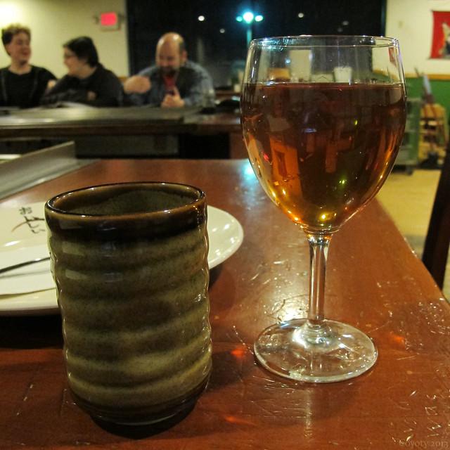 Green tea and Osakatin
