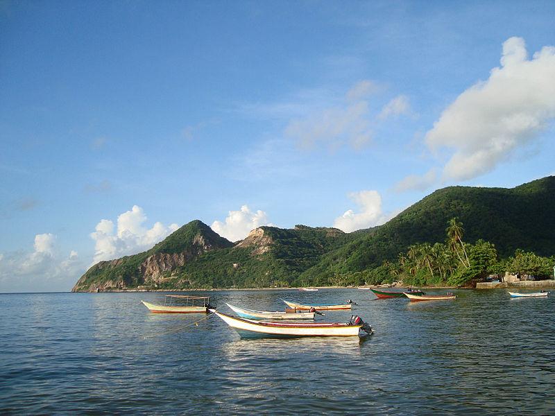 22. Costa de Macuro, frente a isla Trinidad. Autor, Luisovalles