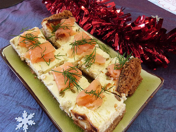 lox cheesecake