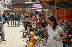 Market w Kathmandu