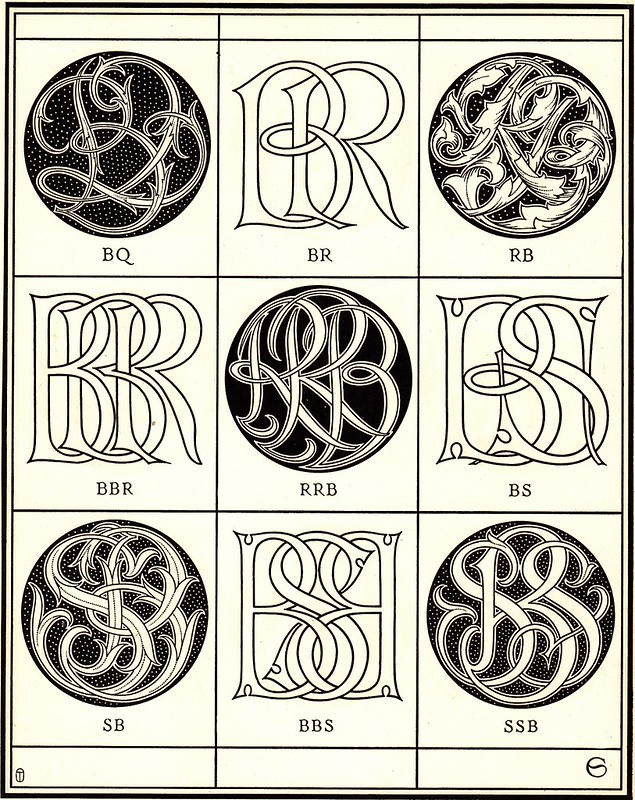 Monograms & Ciphers by AA Turbayne 1912 d