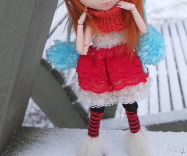 Winter clothes? Molly, Banshee