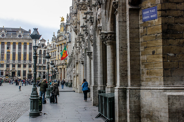 Grand Place de Bruselas, capital de Bélgica