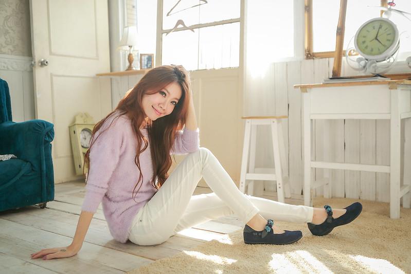 韓系女用鞋,阿力攝影