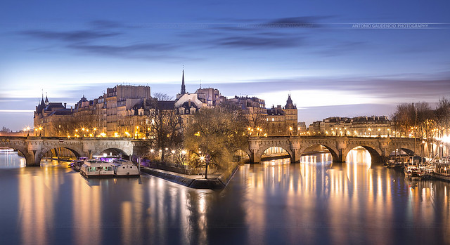 île saint-louis Paris Seine - Paris France